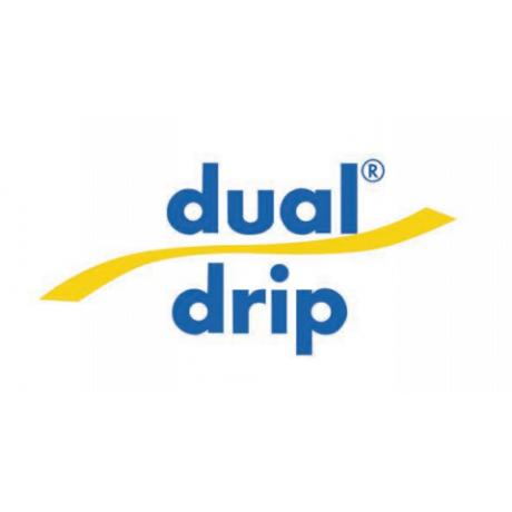 Dual Drip 8mil/4lph/30cm - 2000m